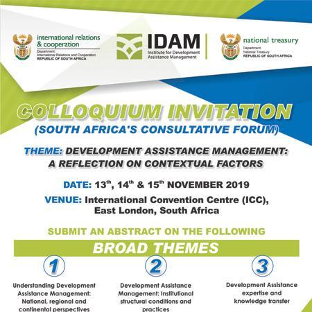 IDAM | 3 day COLLOQUIUM